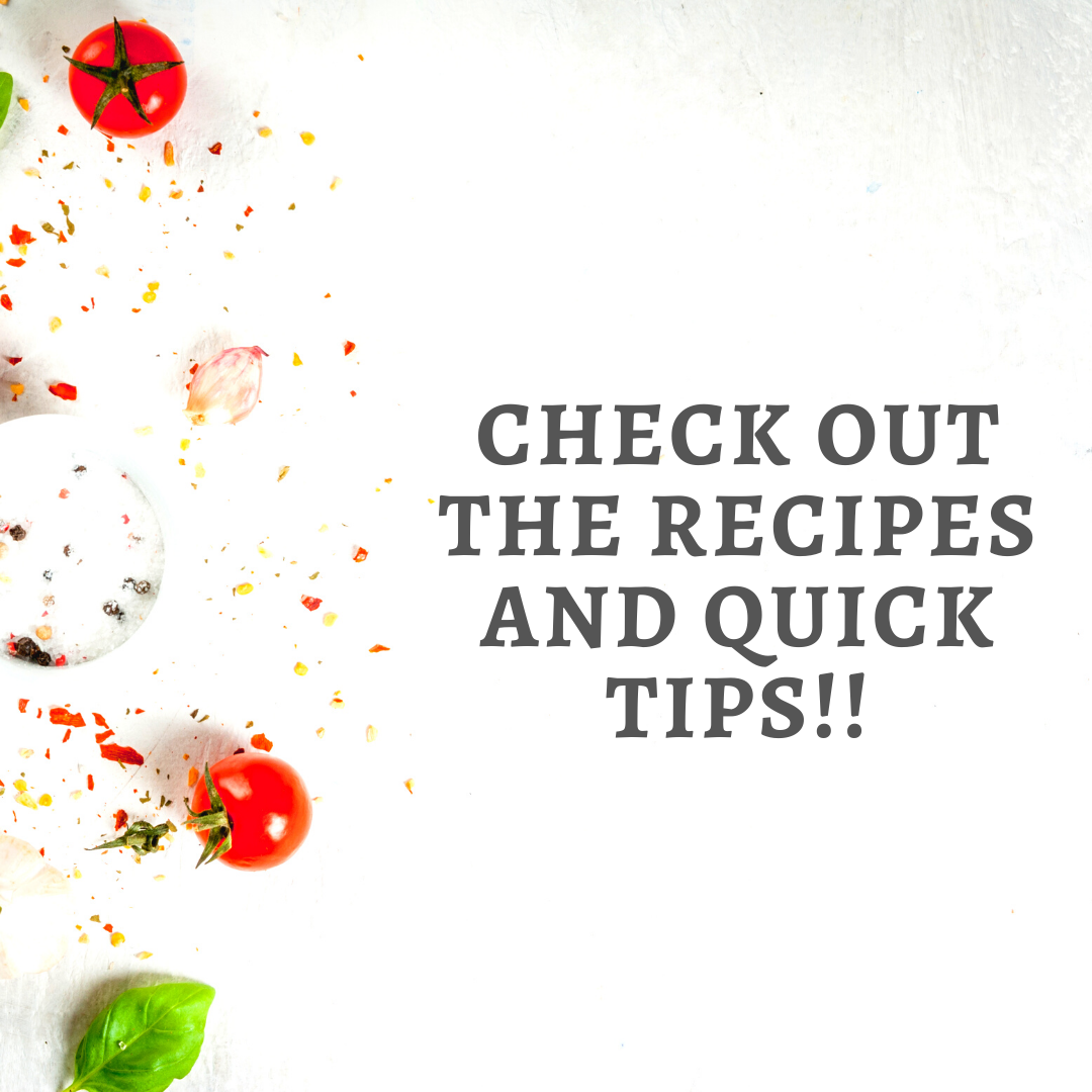 Check out the recipes